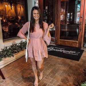 Dresses & Skirts - Pink Ruffled Dress